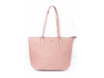 Elegantní dámská kabelka do práce 4180-4 pink