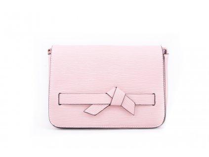 Elegantní psaníčko s mašličkou h2763 růžové