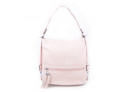 dámská růžová kabelka na rameno 2193 pink (1)