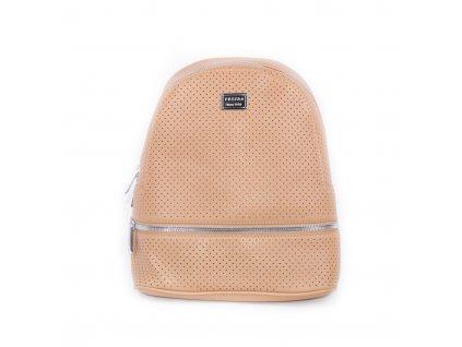dámský hnědý batoh 4063 brown (1)