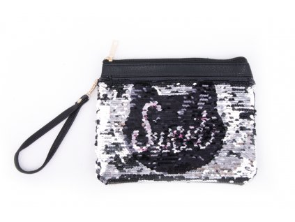 kosmetická taška s flitry 9283 3 kočka (2)