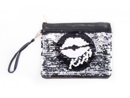 kosmetická taška s flitry 9283 4 kiss (2)