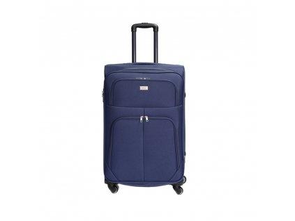 Cestovní kufr C-214 modrý L
