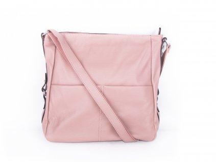 velká kabelka přes rameno růžová (1)