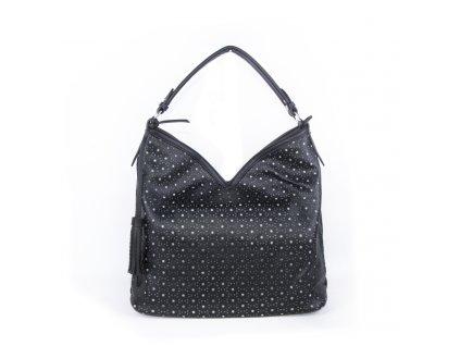 velká dámská kabelka na rameno černá 4302 (2)