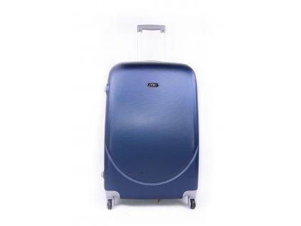 cestovní kufr plastový skořepinový modrý (1)