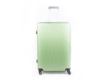 Skořepinový cestovní kufr 2030 zelený S