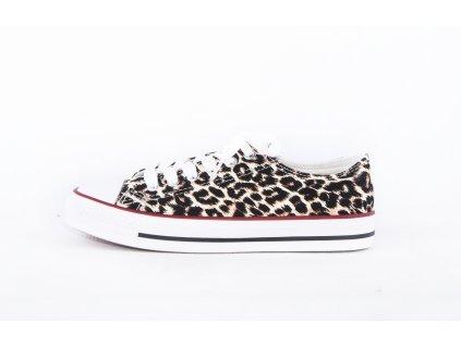 leopardí dámské tenisky obuv s leopardím vzorem (1)