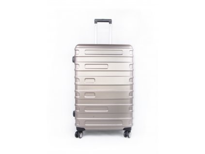 cestovní kufr skořepinový matte gold (1)