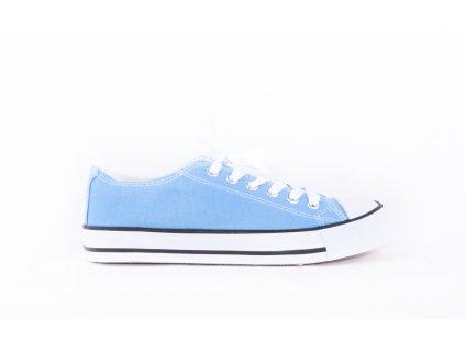 dámské plátěné tenisky modré (1)