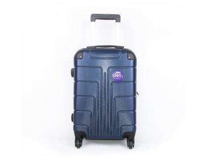 palubní kufr skořepinový tmavě modrý (2)