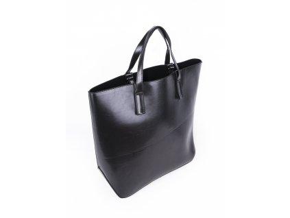 velká lakovaná kabelka do ruky na rameno 2565 (2)