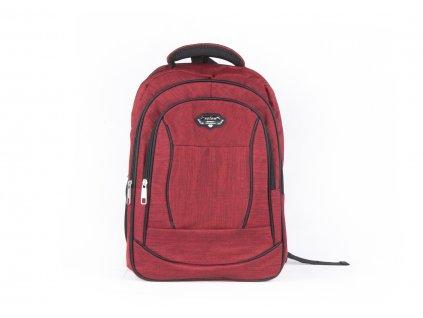 Prostorný batoh 532 červený