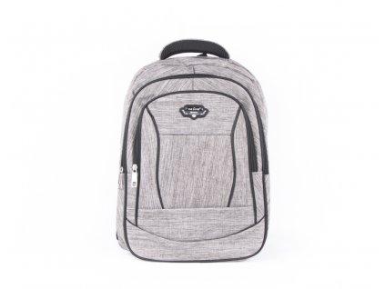 Prostorný batoh 532 šedý