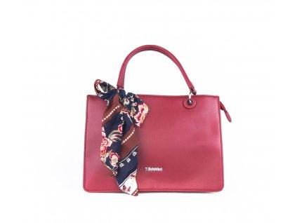 Elegantní kabelka do ruky 4854 červená