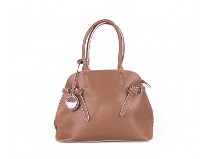 Elegantní dámská kabelka 3948 hnědá