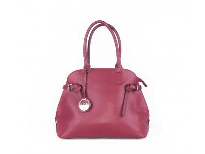 Elegantní dámská kabelka 3948 červená
