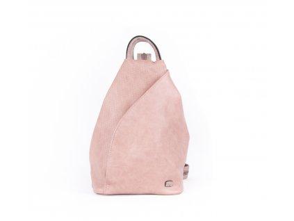 Asymetrický batoh 4218 růžový