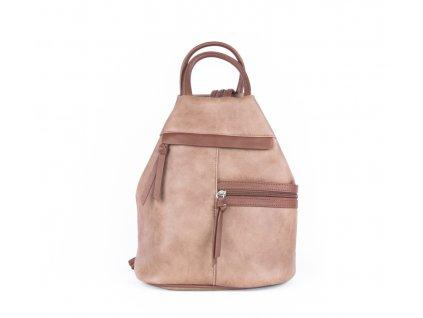 Asymetrický batoh 4219 béžový