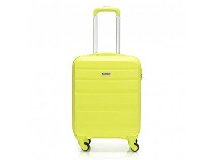 Skořepinový ABS kufr 120340 zelený S