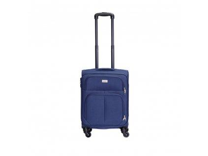 Cestovní kufr C-214 modrý S