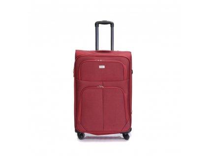 Cestovní kufr C-214 červený L