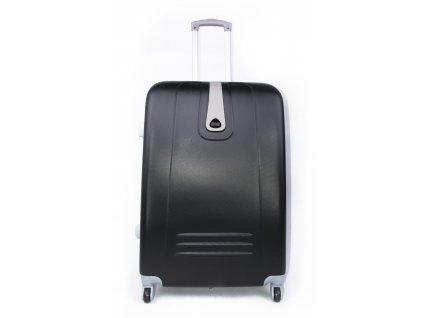 Cestovní kufr plastový černý 188 M