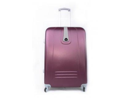 Cestovní kufr plastový vínový 188 L
