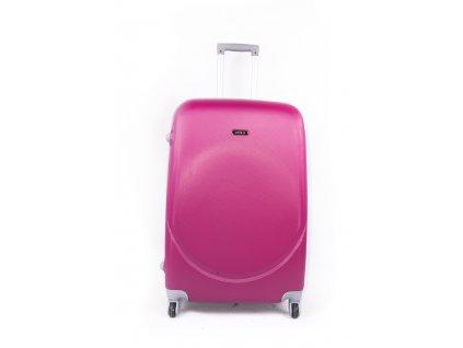 cestovní kufr plastový skořepinový fialový (1)