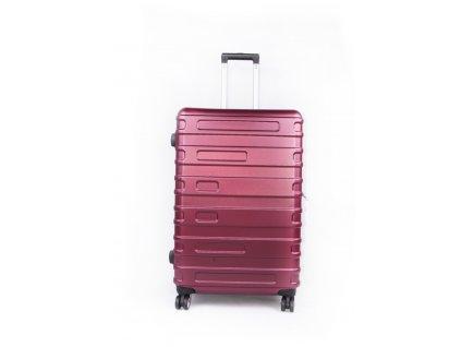 cestovní kufr skořepinový burgundy (1)