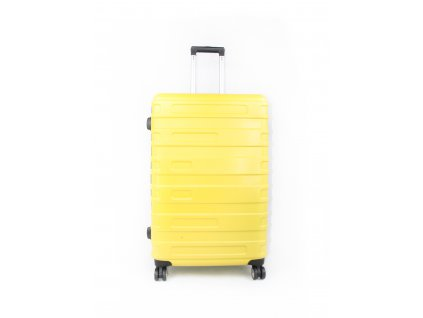 cestovní kufr skořepinový bright yellow (1)