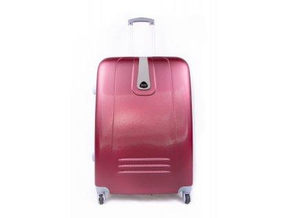 skořepinový kufr červený 188 3 (1)
