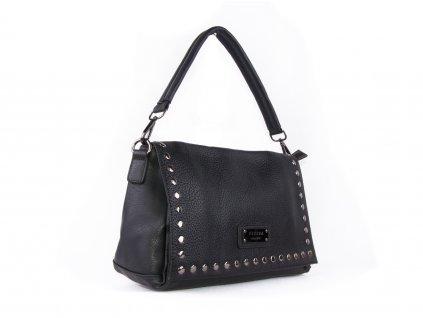 módní kabelka na rameno se cvočky 5055 (2)