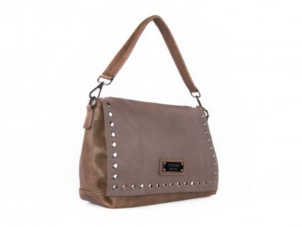 módní kabelka na rameno se cvočky 5055 (5)