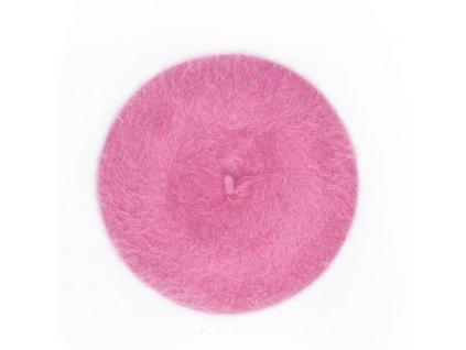 Dámský baret B04 růžový