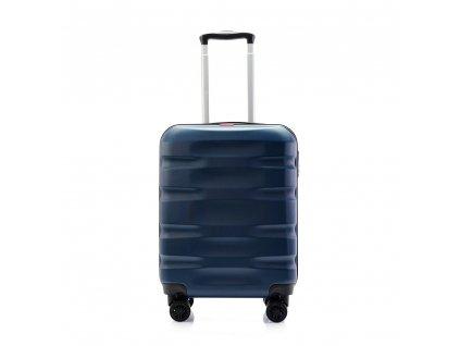 palubní kufr skořepinový 120541 modrý (2)