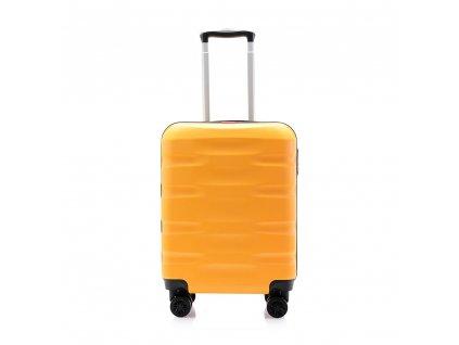 palubní kufr skořepinový 120541 žlutý (2)