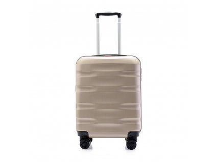 palubní kufr skořepinový 120541 champagne (2)