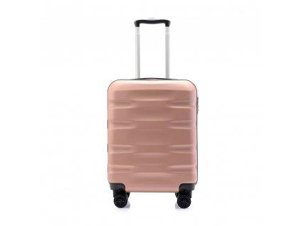 palubní kufr skořepinový 120541 rosegold (1)