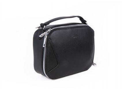 jednobarevná dámská crossbody malá taška přes rameno 4592 (8)