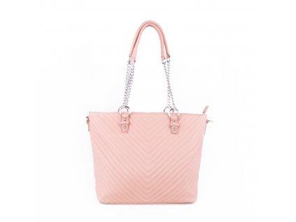 dámská elegantní kabelka shopper s řetízkovým poutkem 5220 (10)