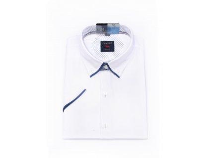 pánská košile krátký rukáv TMSK 20A slim fit (1)