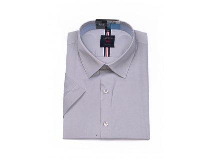 pánská košile krátký rukáv TSMK 10B slim fit