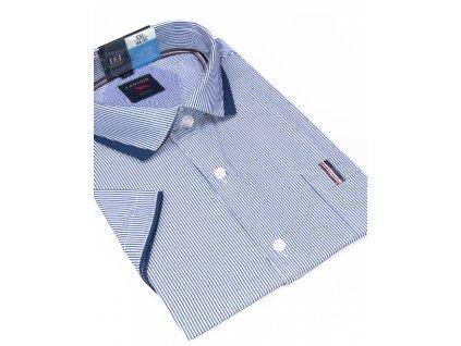 pánská košile krátký rukáv TSK55 4 slimfit