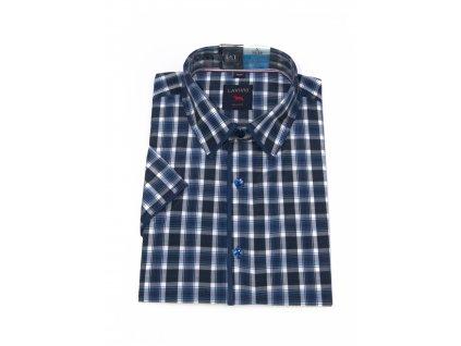 pánská košile krátký rukáv TSK63 3 slimfit (1)