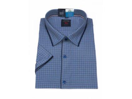 pánská košile krátký rukáv TSK64 4 slimfit (1)