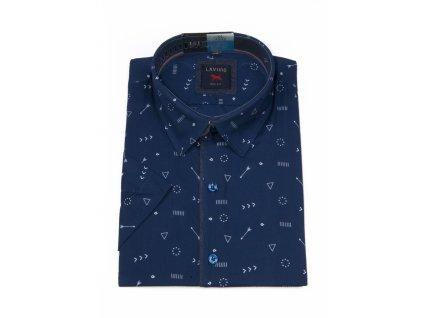 pánská košile krátký rukáv TSK106 2 slimfit (1)