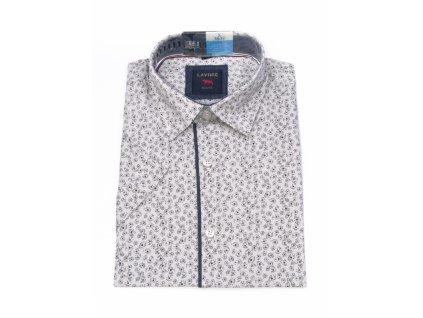 pánská košile krátký rukáv TSK106 3 slimfit (1)