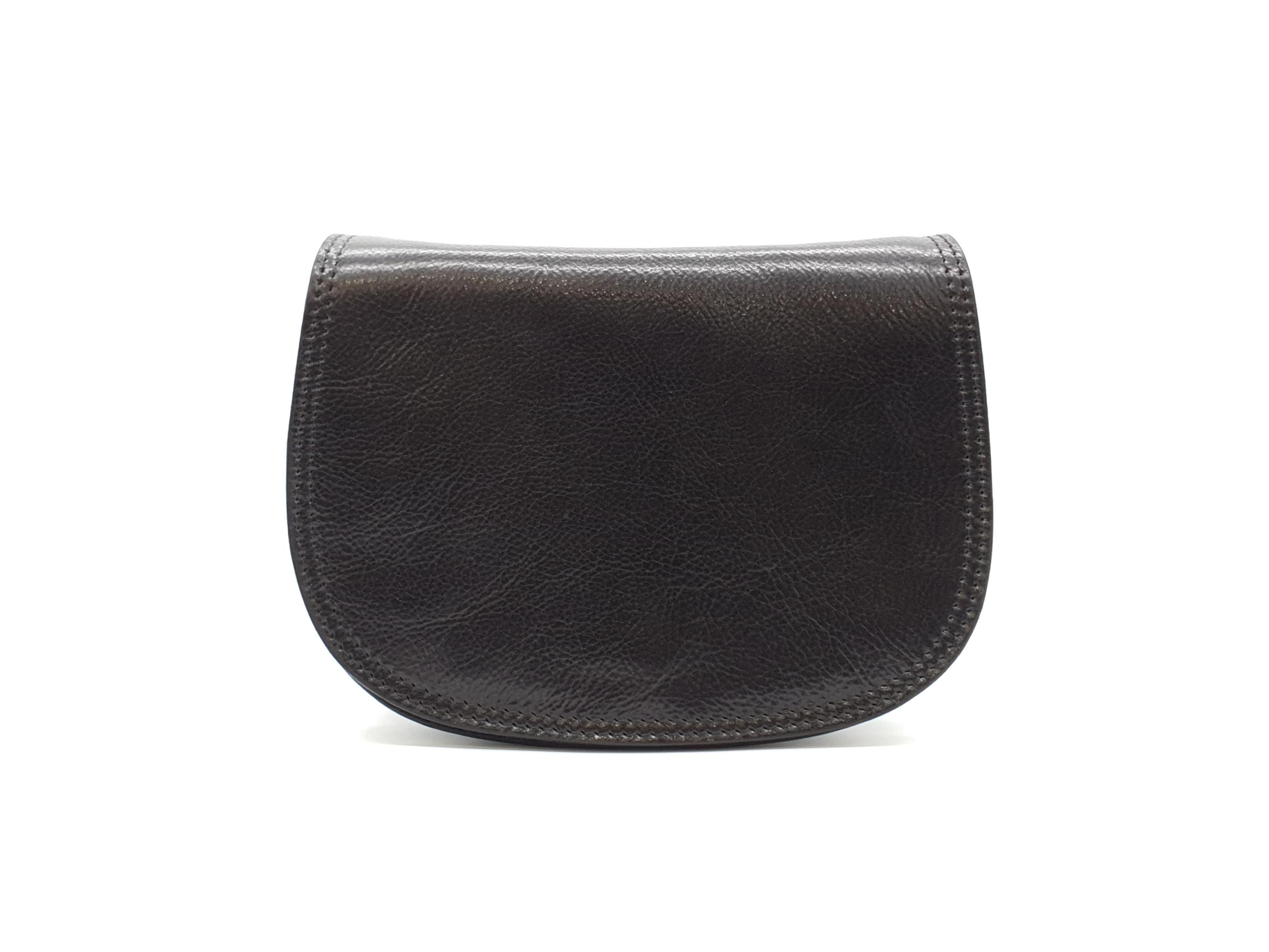 Kožená kabelka Chleb 24 černá