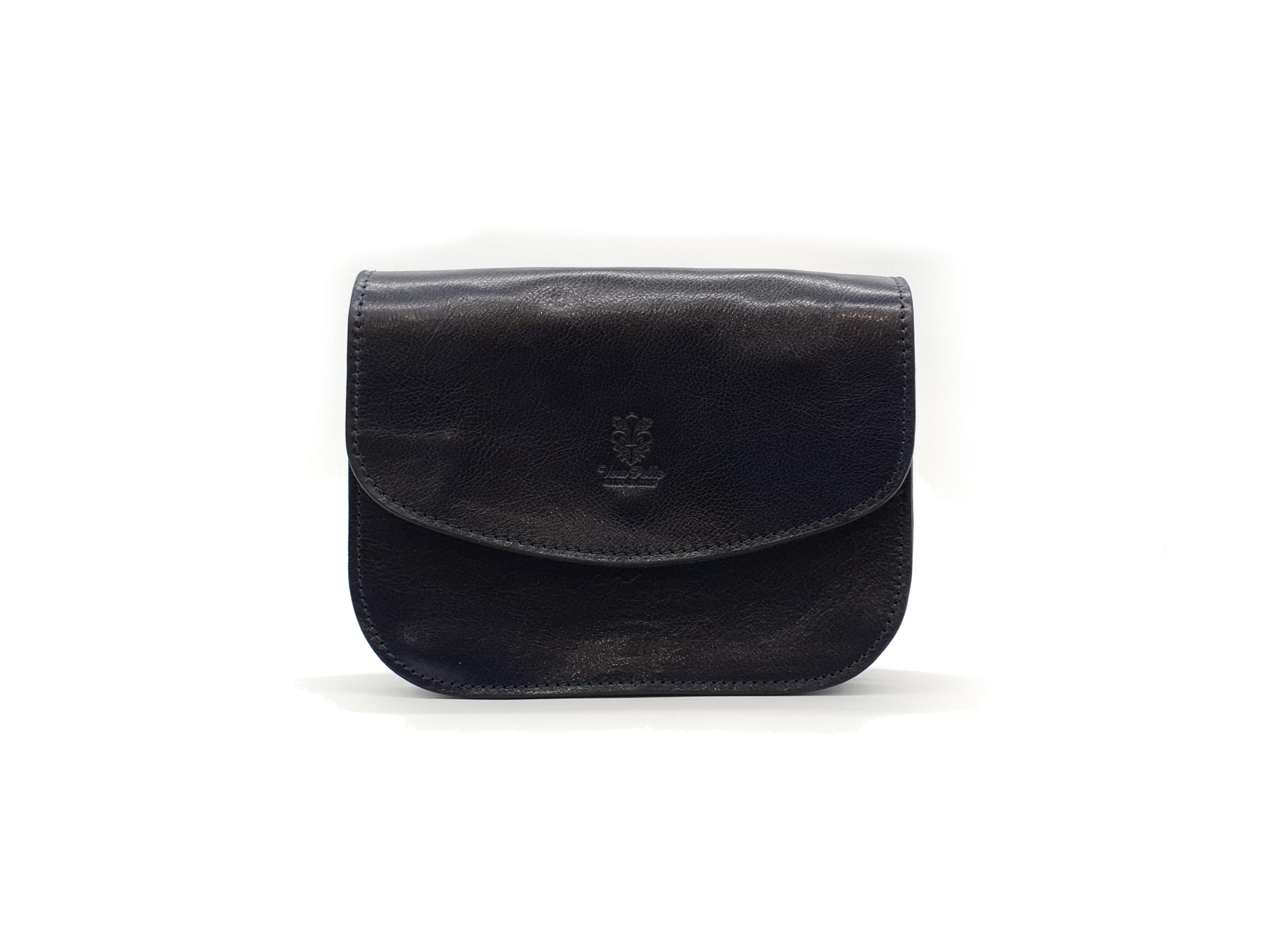 Kožená kabelka Chleb 20 černá